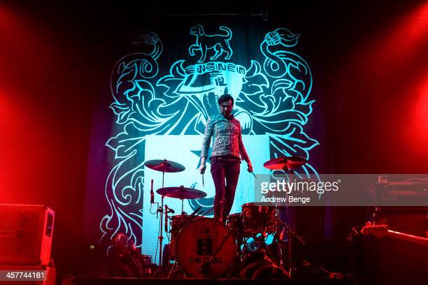 Ross Jarman of The Cribs performs on stage at O2 Academy on December 18 2013 in Leeds United Kingdom