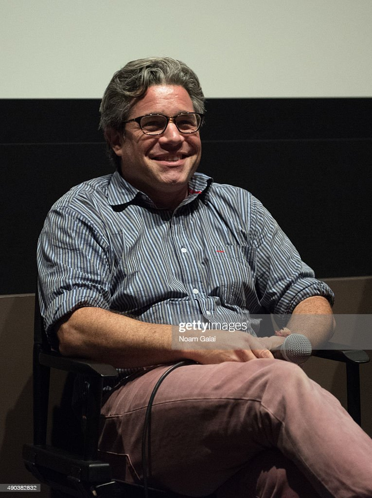 Ross Kauffman attends the Brand Meets Story Panel during the 53rd New York Film Festival at Elinor Bunin Munroe Film Center on September 27, 2015 in New York City.
