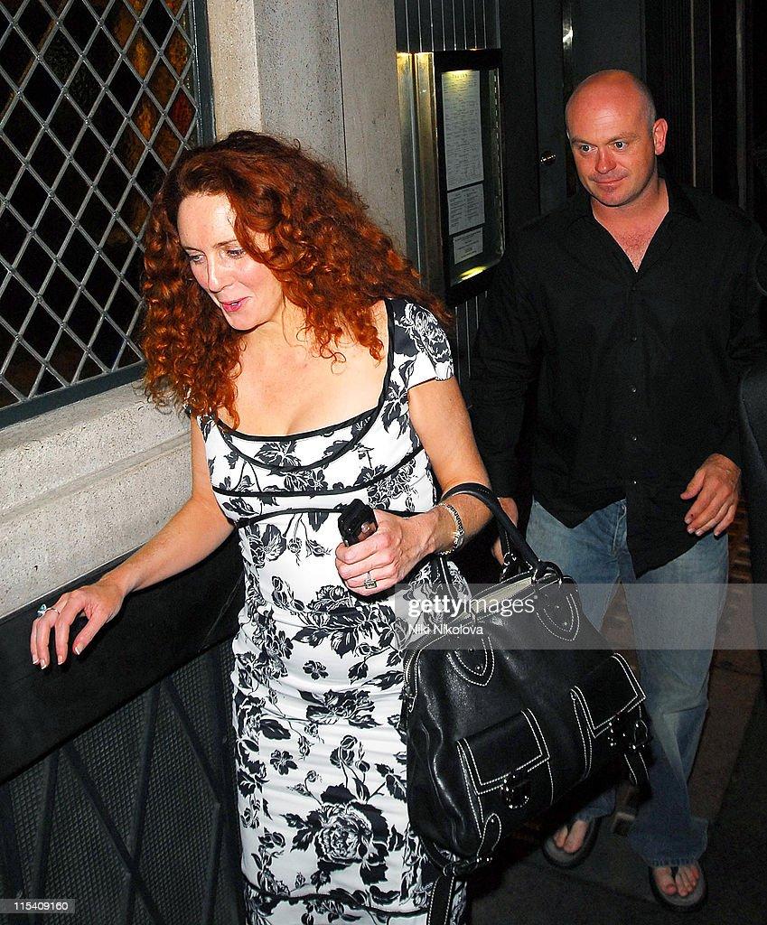Ross Kemp and Rebekah Wade Sighting at the Ivy - July 24, 2006