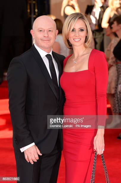 Ross Kemp and Renee O'Brien arriving for the 2014 Arqiva British Academy Television Awards at the Theatre Royal Drury Lane London