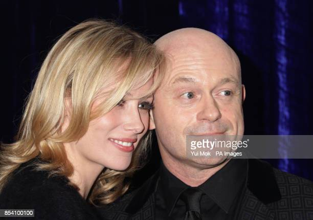 Ross Kemp and Renee O'Brien arriving for The Retail Trust London Ball at Grosvenor House hotel in central London