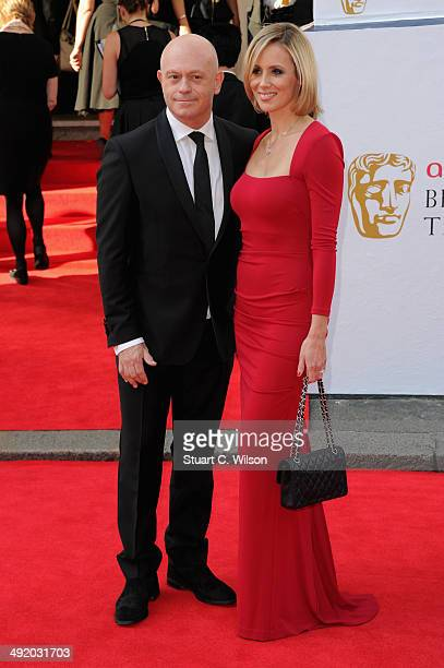 Ross Kemp and Renee O'Brien attend the Arqiva British Academy Television Awards at Theatre Royal on May 18 2014 in London England