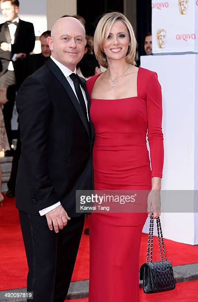 Ross Kemp and Renee O'Brien attend the Arqiva British Academy Television Awards held at the Theatre Royal on May 18 2014 in London England