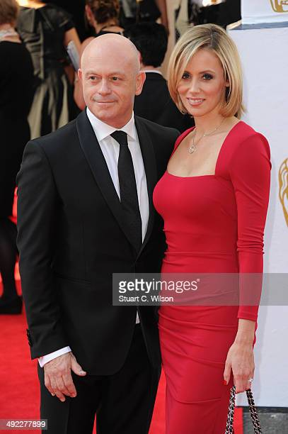 Ross Kemp and Renee O'Brien attends the Arqiva British Academy Television Awards at Theatre Royal on May 18 2014 in London England