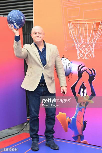 """Ross Kemp attends a special screening of """"SPACE JAM: A NEW LEGACY"""" in cinemas 16th July at Cineworld Leicester Square on July 11, 2021 in London,..."""