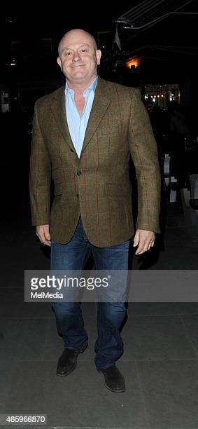 Ross Kemp enjoys date night with wife Renee O'Brienat The Chiltern Firehouse on March 11 2015 in London England