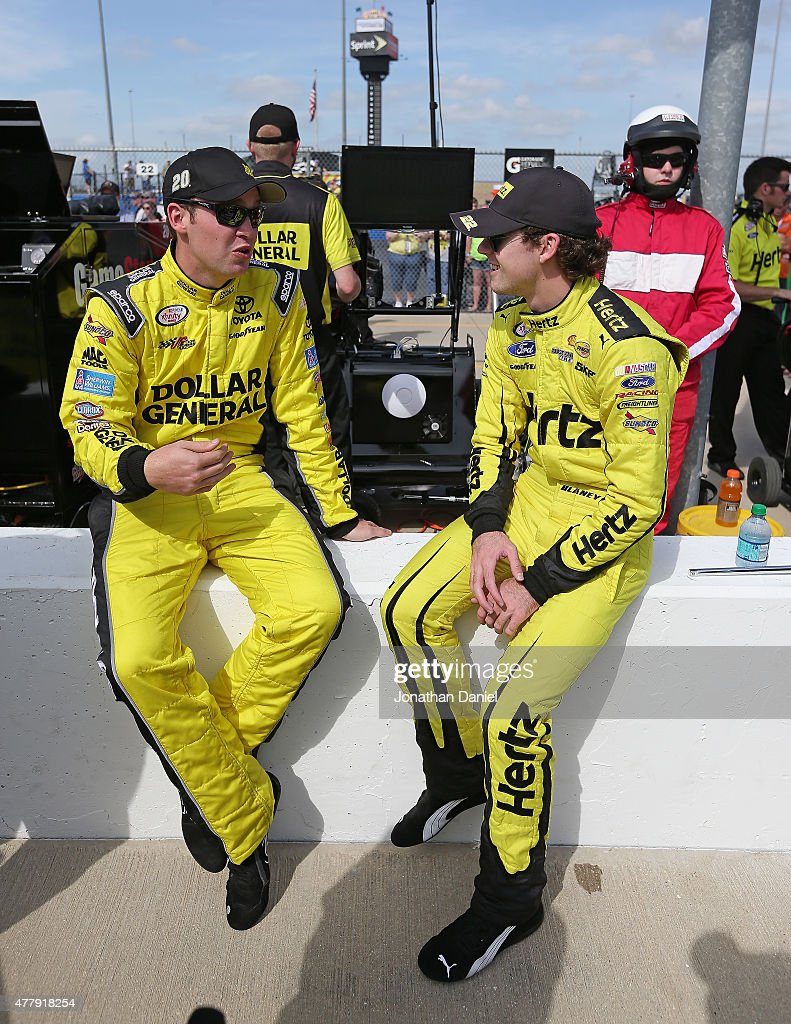 NASCAR XFINITY Chicagoland Race : News Photo