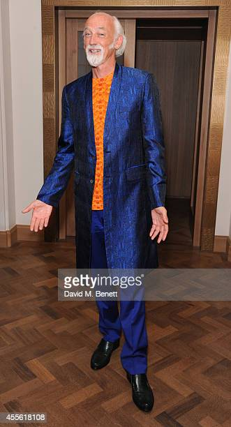 Ross Lovegrove attends the STANDSEVEN party hosted by David Adjaye and Ross Lovegrove at The Club at Cafe Royal on September 17 2014 in London England