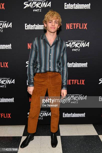 Ross Lynch attends a screening of the Chilling Adventures of Sabrina Part 2 hosted by Entertainment Weekly and Netflix at the Roxy Hotel on April 03...