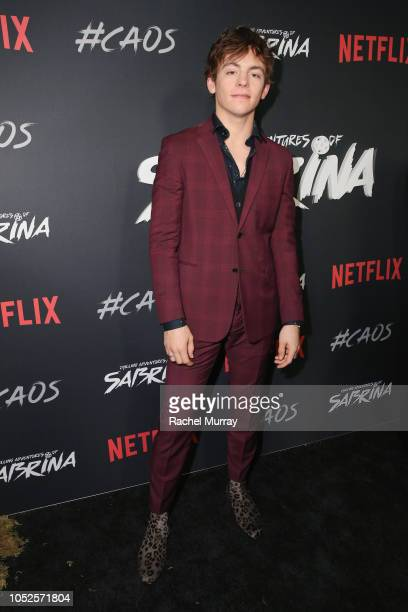 Ross Lynch attends Netflix Original Series Chilling Adventures of Sabrina red carpet and premiere event on October 19 2018 in Los Angeles California