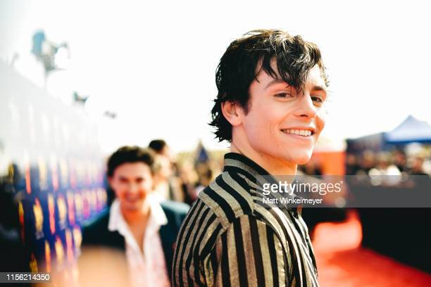 Ross Lynch attends the 2019 MTV Movie and TV Awards at Barker Hangar on June 15 2019 in Santa Monica California