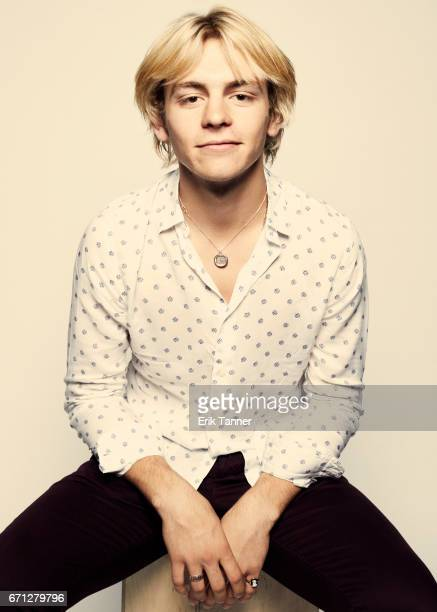 Ross Lynch from 'My Friend Dahmer' poses at the 2017 Tribeca Film Festival portrait studio on April 21 2017 in New York City