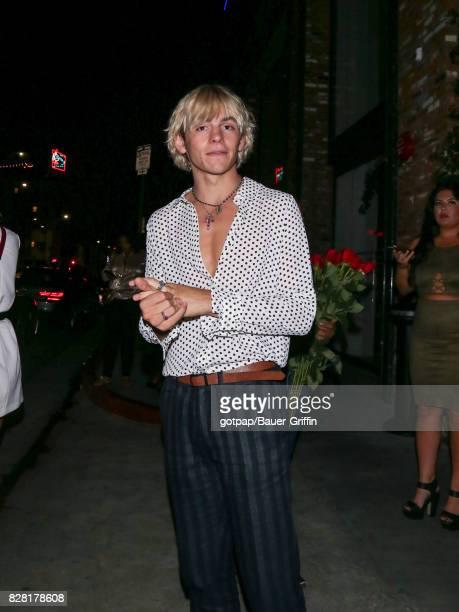 Ross Lynch is seen on August 08 2017 in Los Angeles California