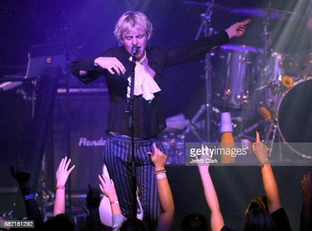 Ross Lynch of R5 attends the R5 Release Party Show For 'New Addictions' at Teragram Ballroom on May 11 2017 in Los Angeles California