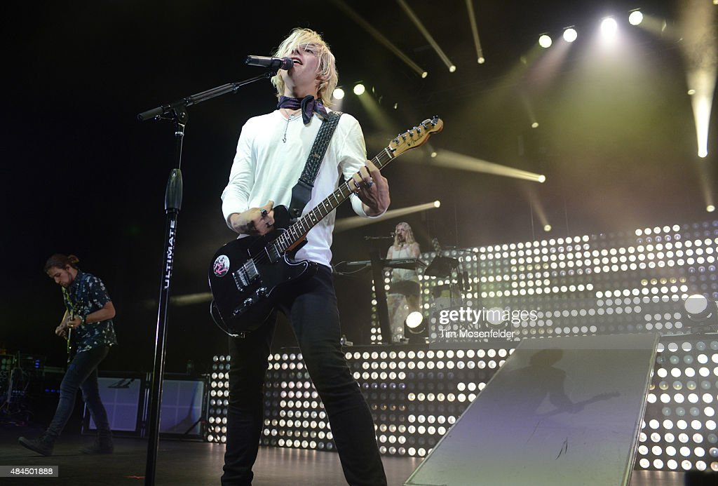 Ross Lynch Of R5 Performs In Support Of The Band S Sometime Last News Photo Getty Images