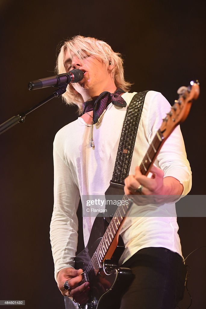 Ross Lynch Of The Band R5 Performs During The Sometime Last Night News Photo Getty Images