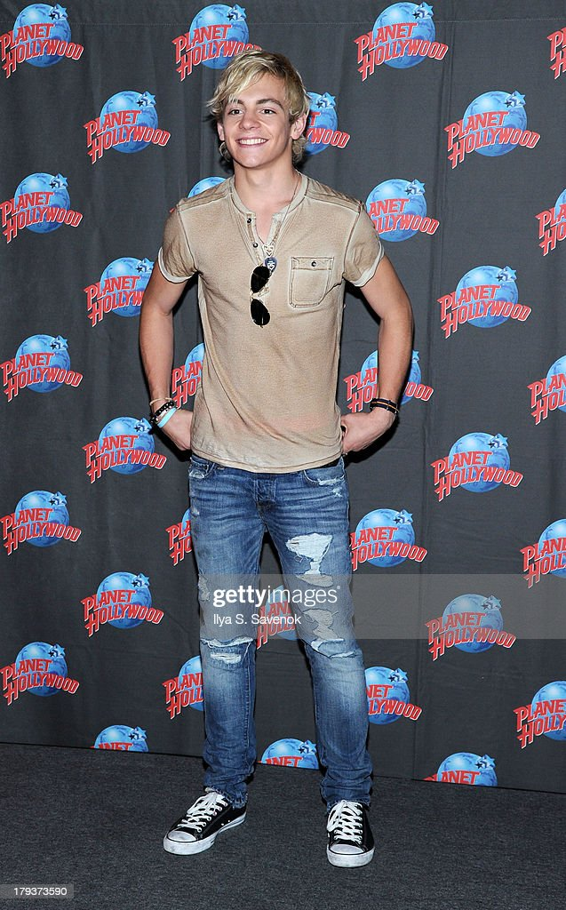 Ross Lynch of the band R5 visit Planet Hollywood Times Square on September 2, 2013 in New York City.