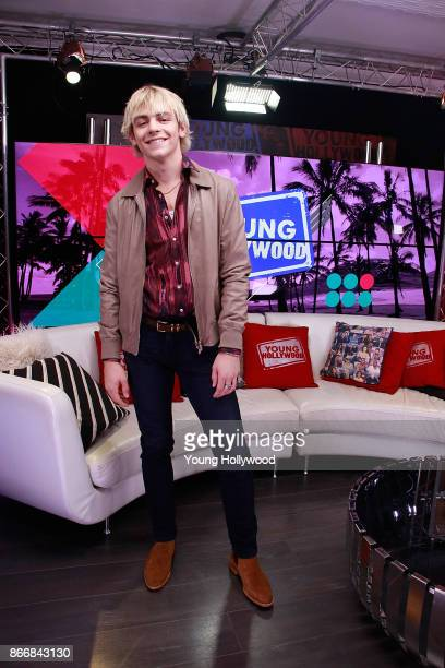 Ross Lynch visits the Young Hollywood Studio on October 26 2017 in Los Angeles California