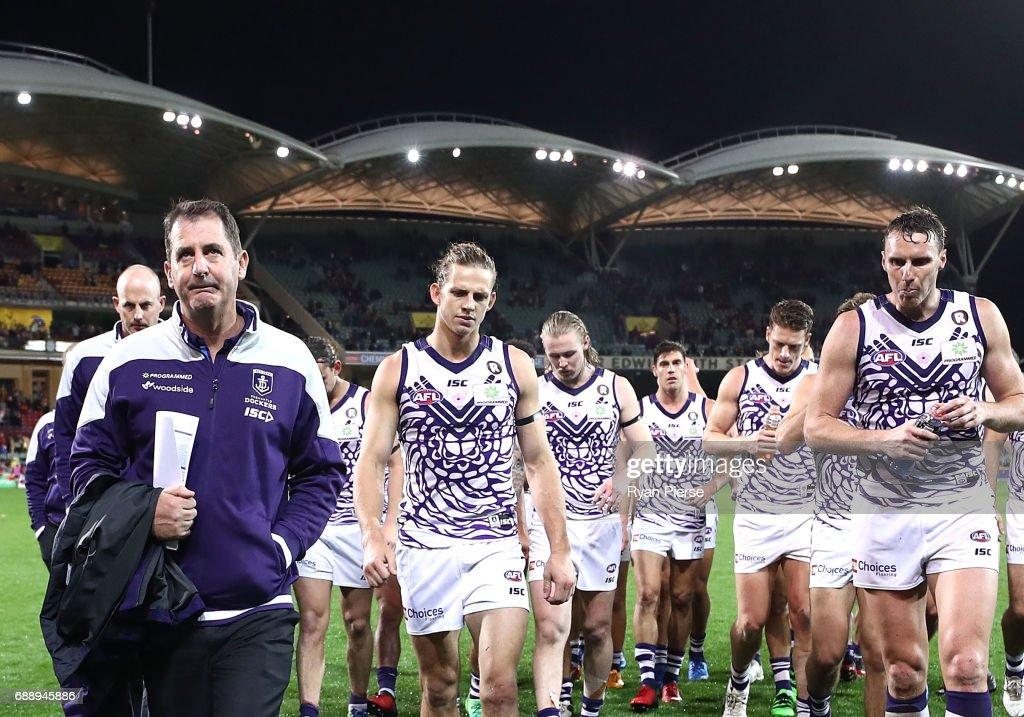 AFL Rd 10 - Adelaide v Fremantle