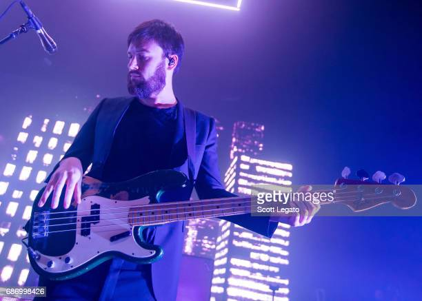 Ross MacDonald of The 1975 performs at The Fillmore Detroit on May 22 2017 in Detroit Michigan