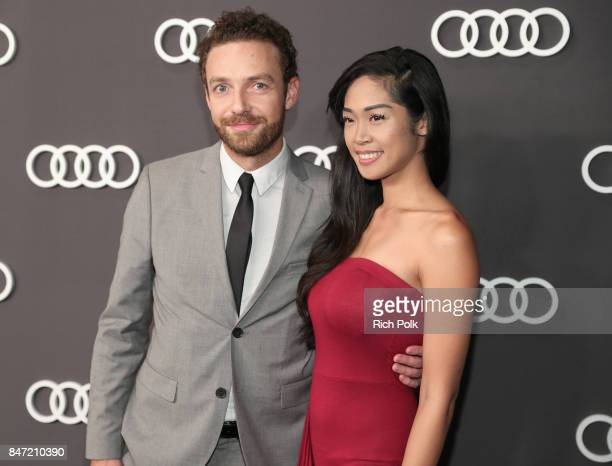 Ross Marquand and guest at Audi Celebrates the 69th Emmys at The Highlight Room at Dream Hollywood on September 14 2016 in Hollywood California