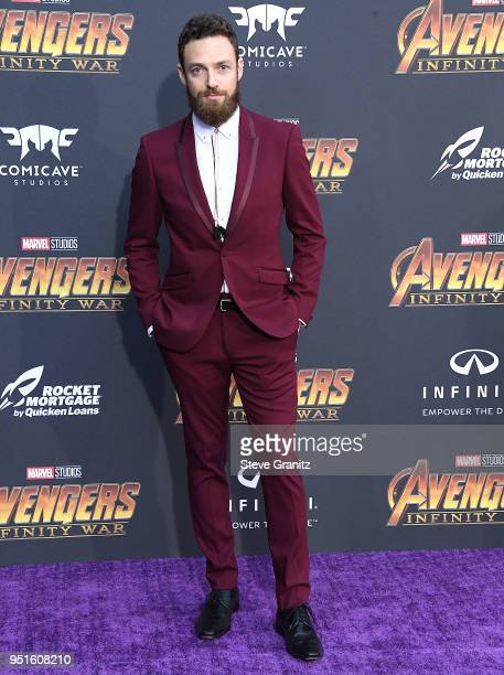 Ross Marquand arrives at the Premiere Of Disney And Marvel's Avengers Infinity War on April 23 2018 in Los Angeles California