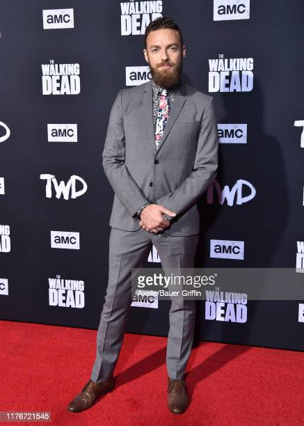 Ross Marquand attends the Special Screening of AMC's The Walking Dead Season 10 at Chinese 6 Theater– Hollywood on September 23 2019 in Hollywood...