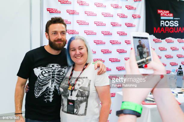 MELBOURNE AUSTRALIA FEBRUARY Ross Marquand signs autographs and meets fans at Walker Stalker Con Melbourne 2018PHOTOGRAPH BY Chris Putnam / Barcroft...