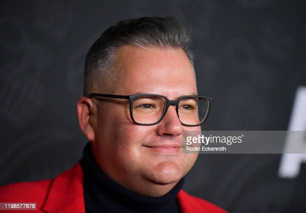 Ross Mathews attends Premiere of Netflix's AJ and the Queen Season 1 at the Egyptian Theatre on January 09 2020 in Hollywood California