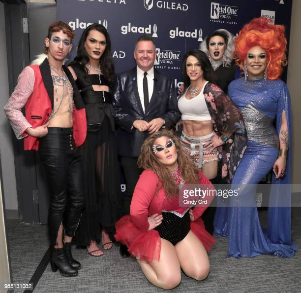 Ross Mathews attends the 29th Annual GLAAD Media Awards at The Hilton Midtown on May 5 2018 in New York City