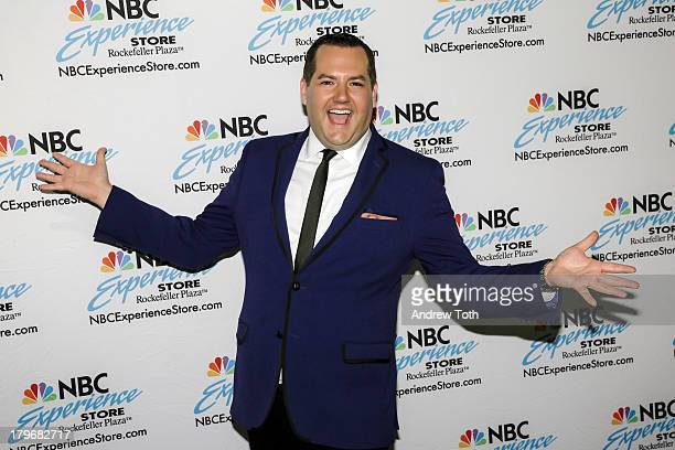 Ross Mathews visits for a Fan Meet And Greet at NBC Experience Store on September 6 2013 in New York City