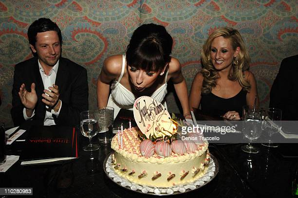 Ross McCall, Jennifer Love Hewitt and Jenny Oleksiw *NO TABLOIDS*