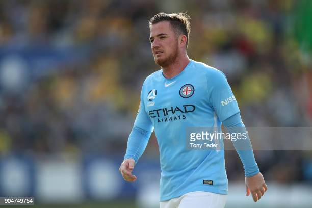Ross McCormack of City during the round 16 ALeague match between the Central Coast Mariners and Melbourne City at Central Coast Stadium on January 14...