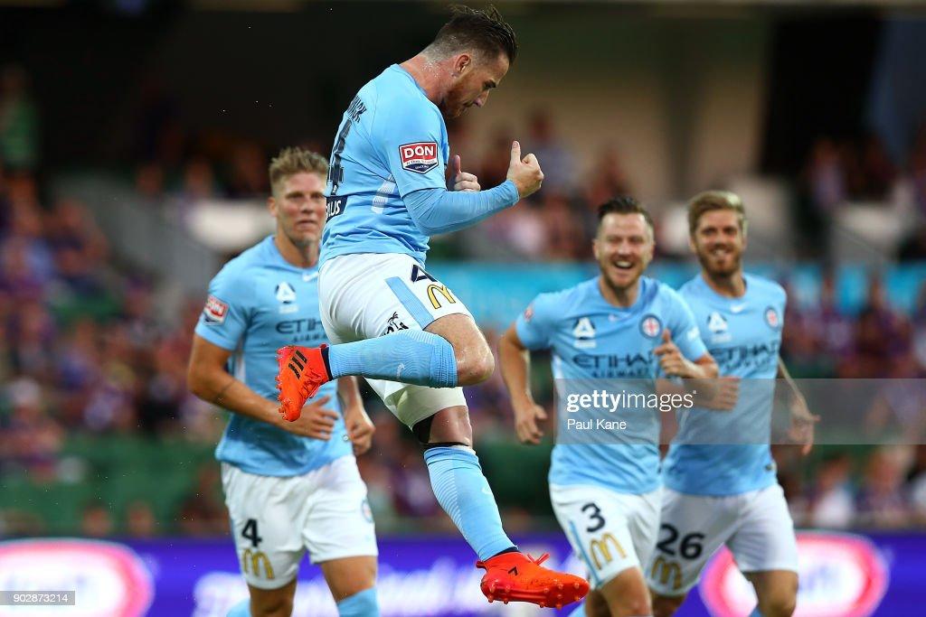 A-League Rd 15 - Perth v Melbourne