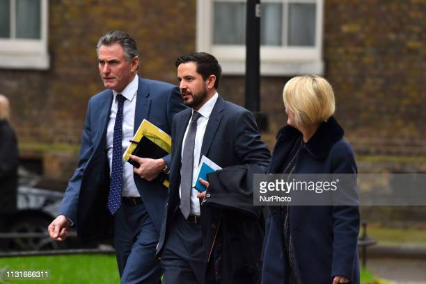 Ross McEwan chief executive officer of the Royal Bank of Scotland Group Plc and Alison Rose deputy chief executive officer of Natwest Holdings Ltd 10...