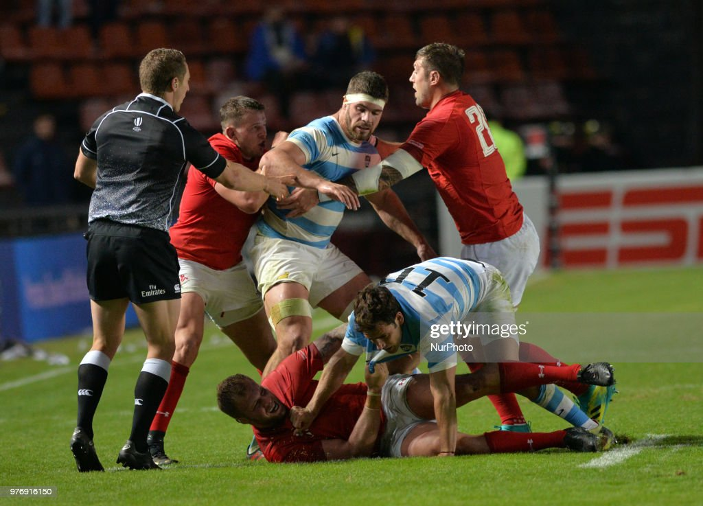 Argentina Los Pumas v Wales Rugby - ICBC Cup : News Photo