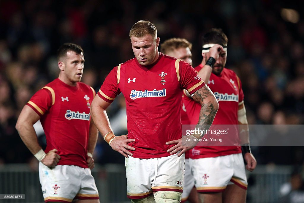 New Zealand v Wales : News Photo
