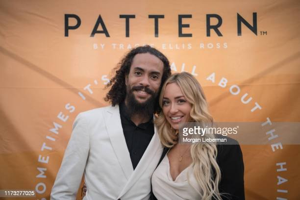 Ross Naess and Kimberly Ryan at the launch of Tracee Ellis Ross' Pattern Beauty on September 08 2019 in Los Angeles California