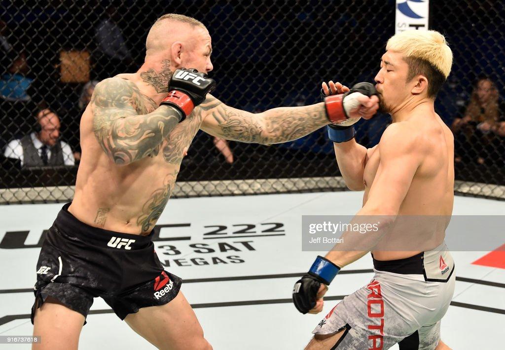 UFC 221: Pearson v Hirota : News Photo