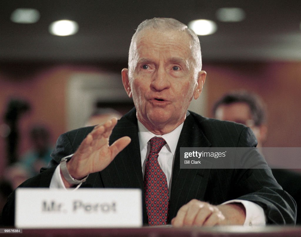 Ross Perot, CEO and Chairman of Perot Systems Corporation, testifies about Gulf War Illnesses during the Senate Subcommittee on Labor, Health and Human Services, Education and Related Agencies hearing.