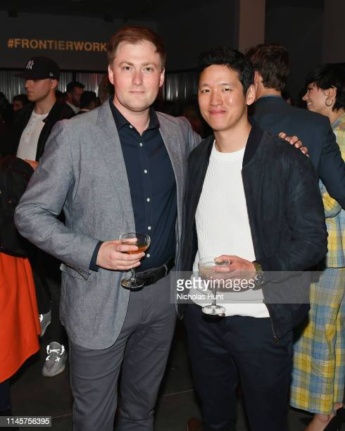 Ross Putman and Jeff Chan attend the 2019 Tribeca Film Festival AfterParty for Plus One hosted by Bulleit Bourbon at the Bulleit 3D Printed at...