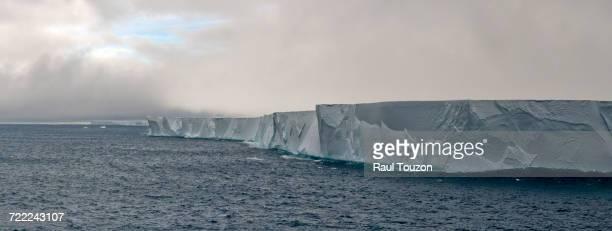 Tabular iceberg floating in the Ross Sea.