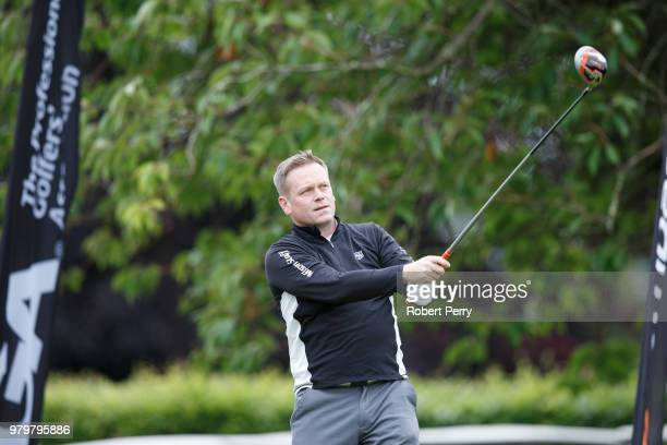 Ross Steel during the Lombard Trophy Scottish Qualifier at Rosemount Course Blairgowrie Golf Club on June 20 2018 in Perth Scotland