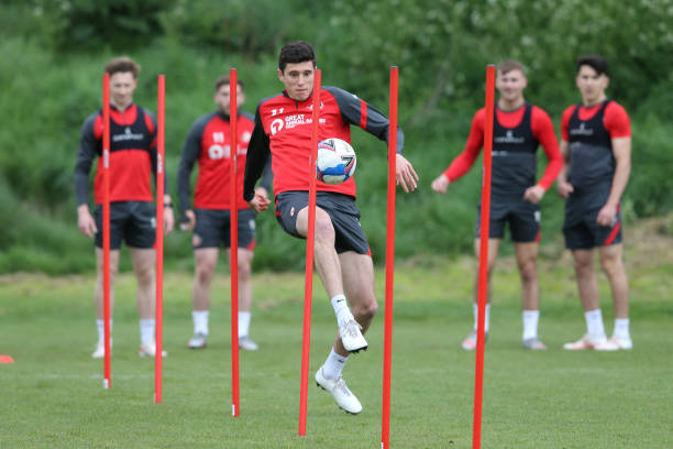 GBR: Sunderland Training Session
