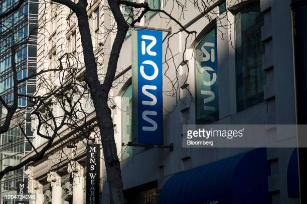 Ross Stores Inc. Signage is displayed outside a store in San Francisco, California, U.S., on Wednesday, Feb. 26, 2020. Ross Stores is expected to...