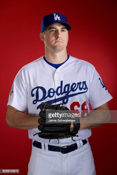 Ross Stripling of the Los Angeles Dodgers poses during MLB Photo Day at Camelback Ranch- Glendale on February 22, 2018 in Glendale, Arizona.
