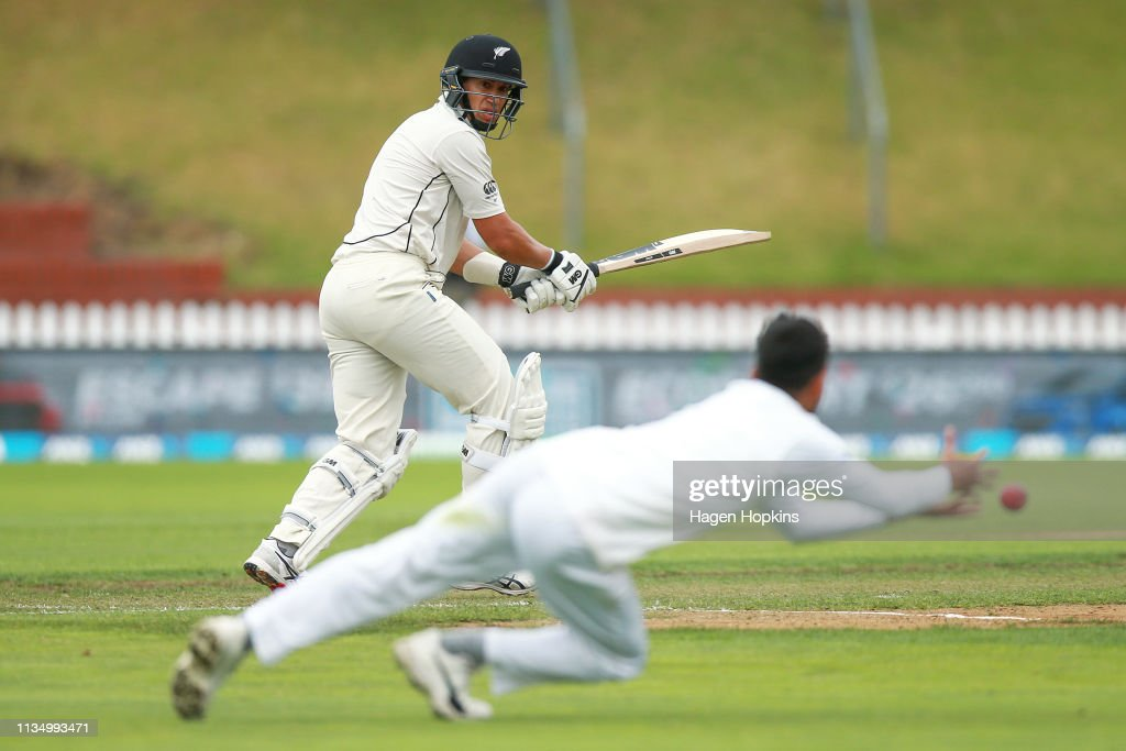 New Zealand v Bangladesh - 2nd Test: Day 4 : News Photo