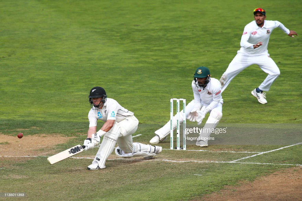 New Zealand v Bangladesh - 2nd Test: Day 4 : News Photo