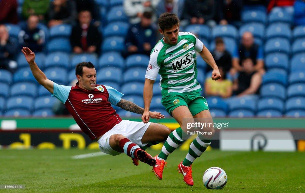 Burnley v Yeovil Town - Sky Bet Championship : Nachrichtenfoto