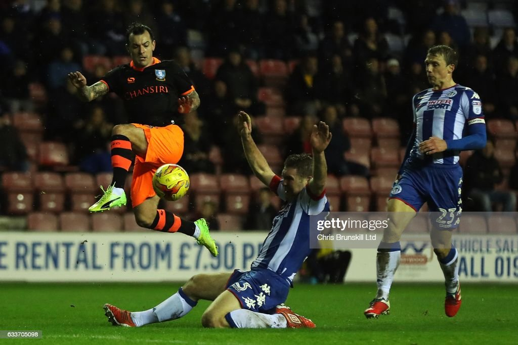 Wigan Athletic v Sheffield Wednesday - Sky Bet Championship